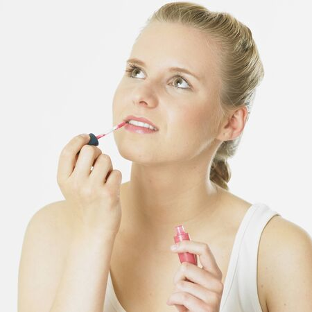 lip pencil: womans make up