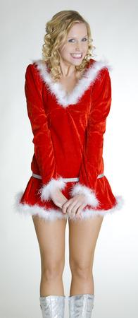 christmas motive: Santa Claus Stock Photo