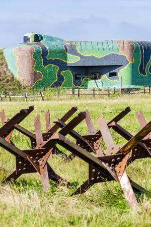 demarcation: bunker near Satov, Czech Republic
