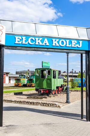 narrow gauge: narrow gauge railway, Elk, Warmian-Masurian Voivodeship, Poland