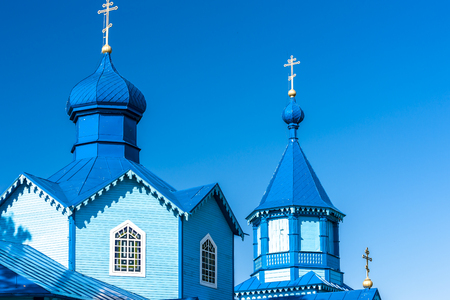 narew: wooden Orthodox church in Narew, Podlaskie Voivodeship, Poland