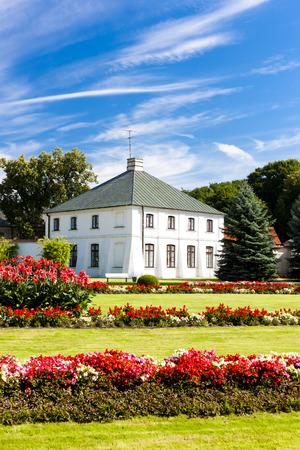 lublin: Kozlowski Palace with garden, Lublin Voivodeship, Poland