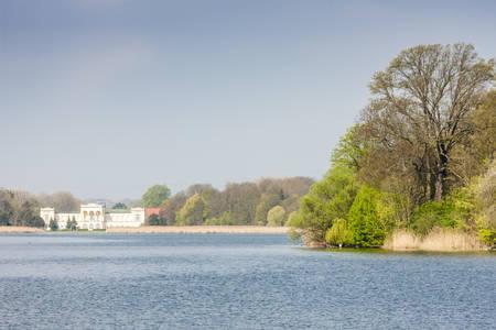 unesco in czech republic: Hranicni Palace, Hlohovecky pond, Czech Republic