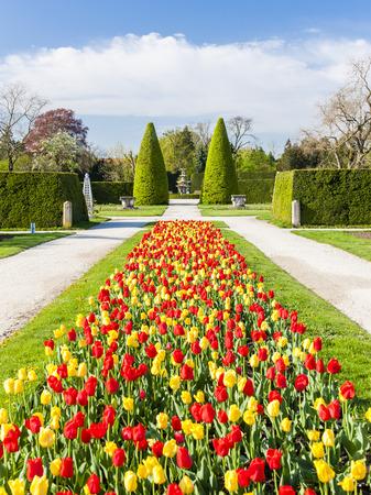 unesco in czech republic: garden of Lednice Palace, Czech Republic