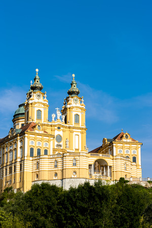 benedictine: benedictine monastery in Melk, Lower Austria, Austria
