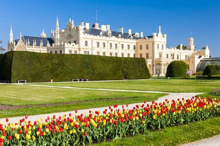 Lednice palazzo con giardino, Repubblica Ceca