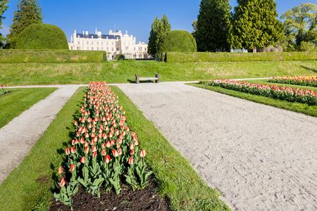 unesco in czech republic: Lednice Palace with garden, Czech Republic
