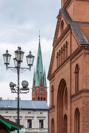 torun: Evangelical Church, Torun, Kuyavia-Pomerania, Poland