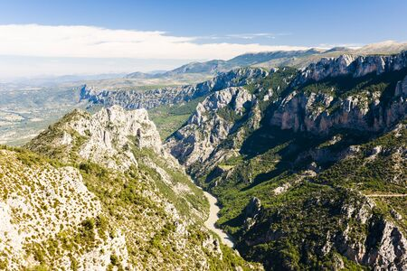 the silence of the world: Verdon Gorge, Provence, France