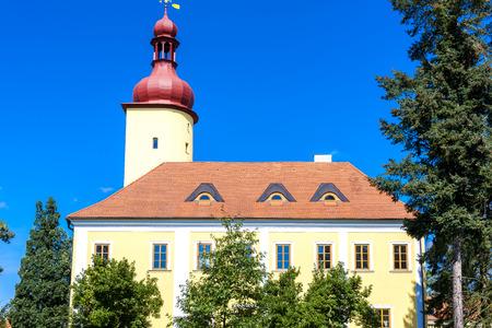 nad: palace in Straz nad Nezarkou, Czech Republic