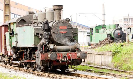 yugoslavia federal republic: steam locomotives, Kolubara, Serbia