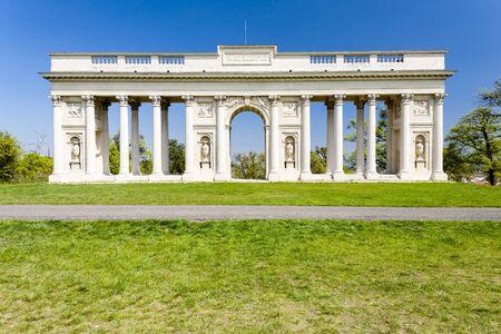 colonnade: Colonnade on Reistna, Czech Republic