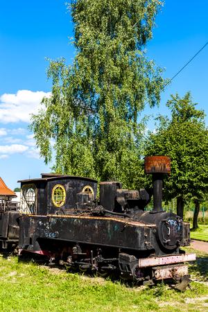 narrow gauge railroad: forest railway, Hajnowka, Podlaskie Voivodeship, Poland