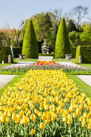 moravia: garden of Lednice Palace, Czech Republic