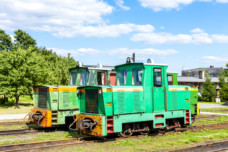 narrow gauge railway, Elk, Warmian-Masurian Voivodeship, Poland