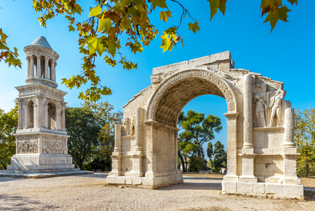 Glanum in summer, Provence