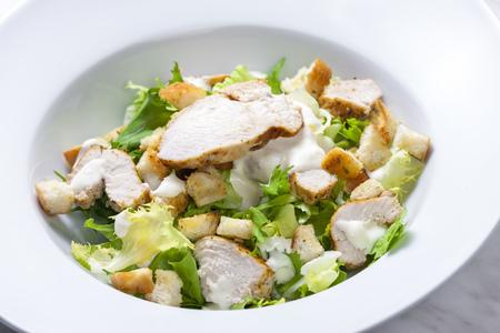 salad cesar Imagens