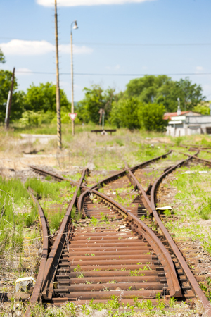 old railway tracks