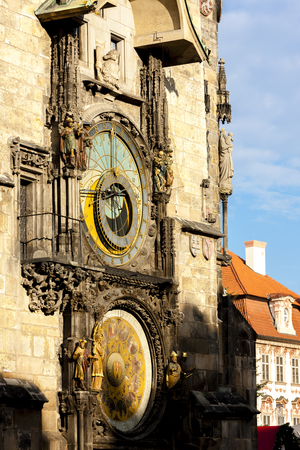 Horloge at Old Town Square, Prague, Czech Republic