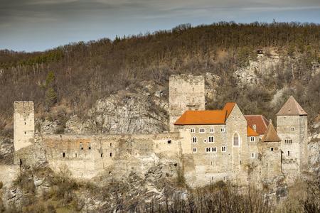 Hardegg castle in Austria