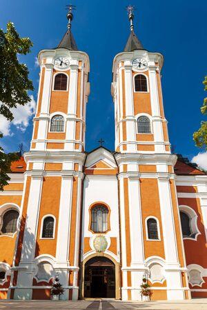 pilgrimage church Mariagyud in Hungary Stock Photo
