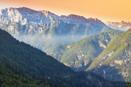 Mountains in Triglav national park, Slovenia