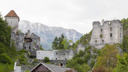 Castle ruins Kamen, Radovljica, Slovenia