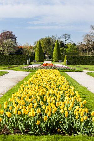 garden of Lednice Palace, Czech Republic