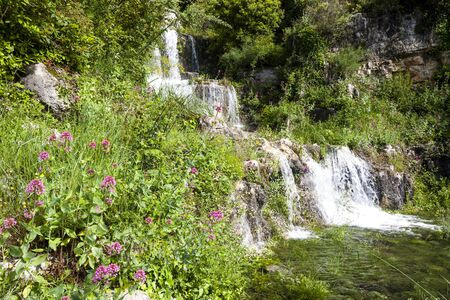 waterfall near  Grasse, Provence, France Imagens