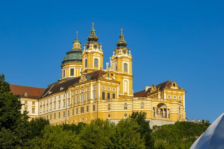 Monastery Melk in north Austria