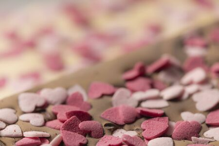 detail of chocolate for Valentines day