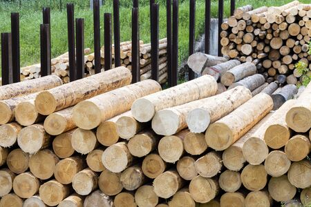 woodworking industry in Alps, Italy