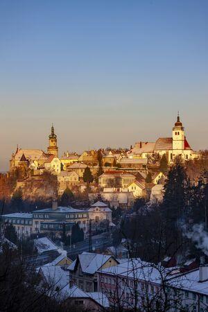 Nove Mesto nad Metuji, Eastern Bohemia, Czech Republic 版權商用圖片