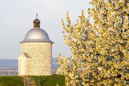chapel near Velke Bilovice, Czech Republic