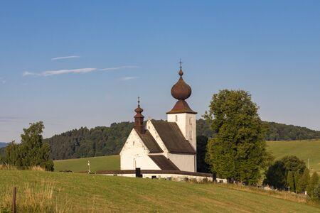 church in Zehra, Spis region, Slovakia
