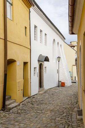 town Trebic, UNESCO site, (oldest Middle ages settlement of jew community in Central Europe), Moravia, Czech Republic