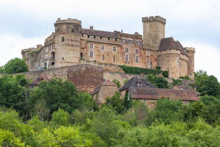 Chateau de Castelnau-Bretenoux in France