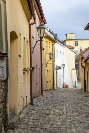 town Trebic, (oldest Middle ages settlement of jew community in Central Europe), Moravia, Czech Republic Stockfoto