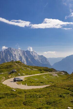 Mangart mountain,  Triglav national park, Julian Alps, Slovenia Standard-Bild - 140373498