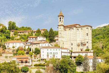 old village Cessole in Asti, Italy
