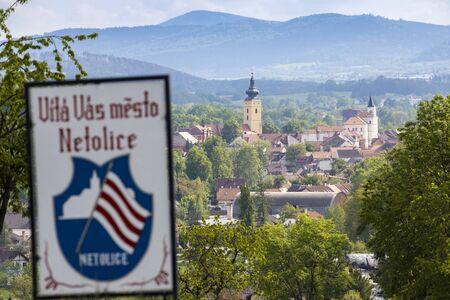 Town Netolice, near Sumava, Southern Bohemia, Czech Republic