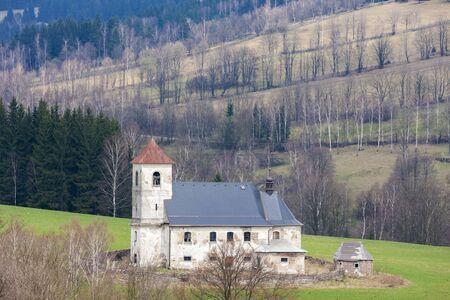 Church of st. Jan Nepomucky, Bartosovice v Orlickych horach, Czech Republic