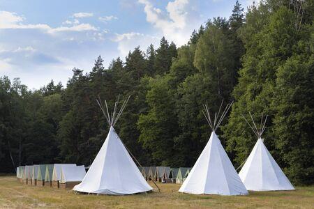 Camp scout, Bohême occidentale, République tchèque