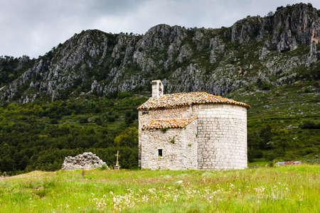 chapel Escragnolles, Provence, France