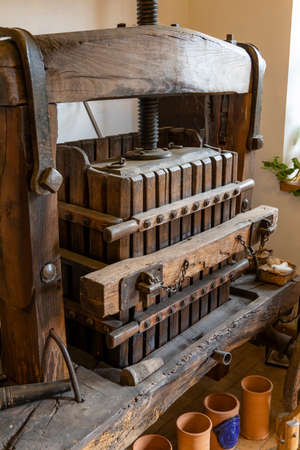 old wine press in Moor, Hungary