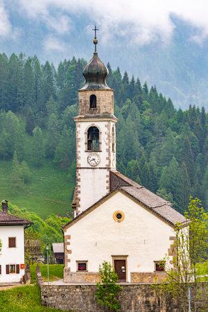 Sauris di sotto, Friuli-Venezia Giulia, Italy Archivio Fotografico
