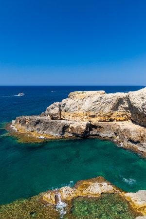 Southernmost place in Puglia, Punta Ristola, Castrignano del Capo, Apulia, Italy