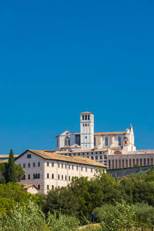 Assisi old town, Province of Perugia, Umbria region, Italy
