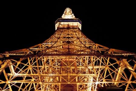 tokyo tower, rappongi, tokyo, japan photo