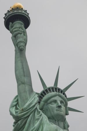d'eiffel: lady liberty Stock Photo